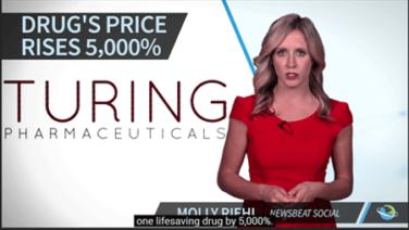 Turing Pharma Raises Price of Life-Saving Drug Daraprim by 5,000%